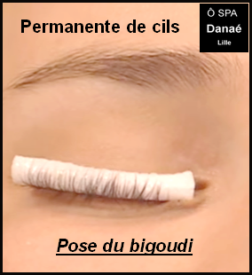 Permanente de cils Ô Spa Danaé Lille
