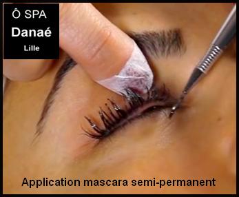mascara semi-permanent Ô Spa Danaé Lille