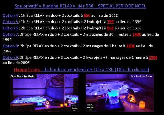 Promotion de Noël Ô Spa Danaé à Lille