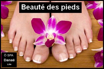 Beauté des pieds Ô Spa Danaé à Lille