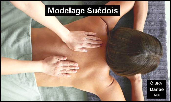 Massage suédois Ô Spa danae lille