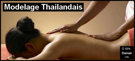 Massage thaïlandais Ô Spa Danaé Lille