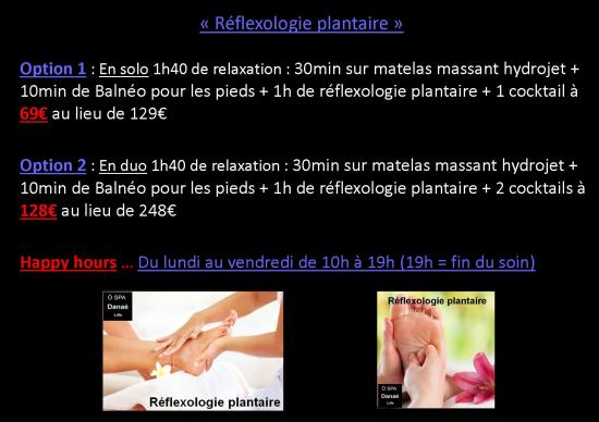 Happy hours reflexologie