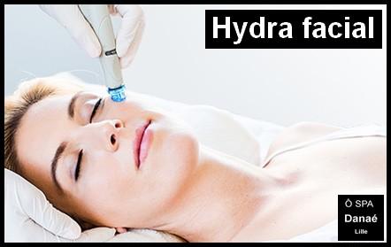 Hydrafacial ô spa danae Lille