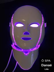 LED violette visage