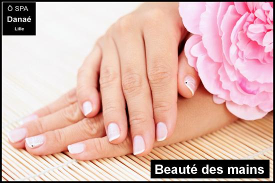 Beauté des mains Ô Spa Danaé à Lille