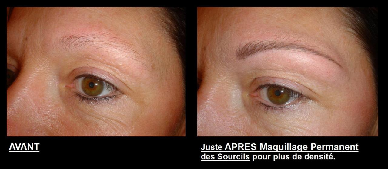 Maquillage Permanent Tatouage Maquillage Semi Permanent De 1 A 3 Ans