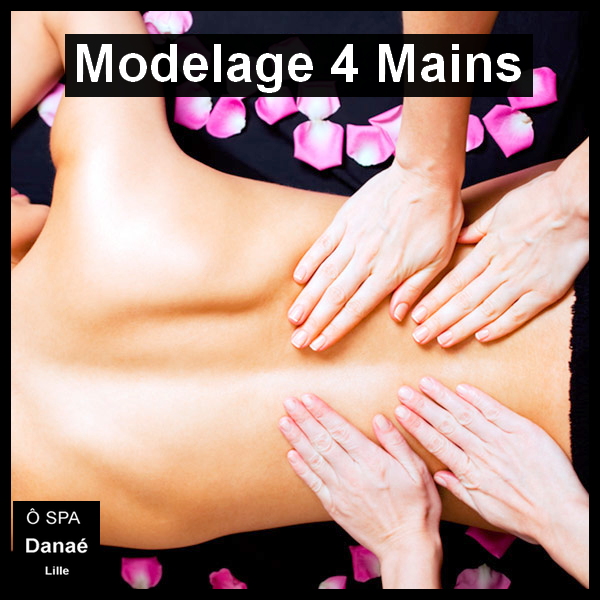 Massage 4 mains Ô Spa Danaé Lille