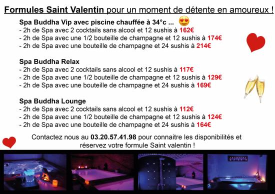 Saint valentin 2019 Spa