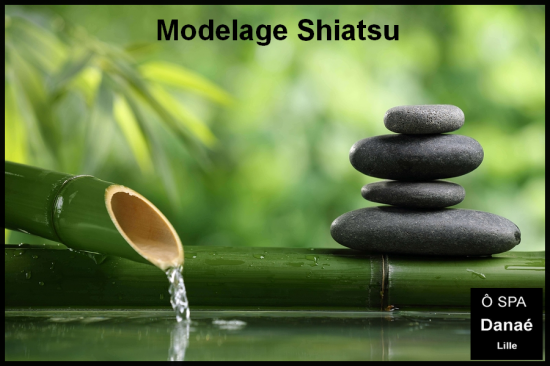 Massage shiatsu Ô Spa Danaé Lille