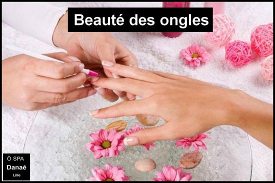 Soin des ongles Ô Spa Danaé à Lille