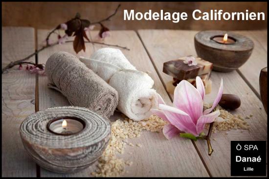 Massage californien Ô Spa Danaé Lille