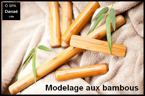 Massage bambou Ô Spa Danaé Lille